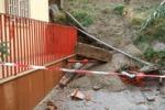 Messina, frana minaccia un complesso residenziale