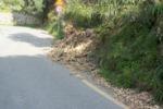Frane sulla strada, pericoli a Messina