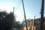 Messina, pali pericolanti: pericoli a Pianotorre