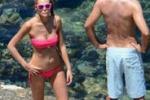 Cristina Chiabotto, relax sotto il sole di Taormina