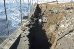 Allarme erosione a Messina, distrutta la spiaggia di Tarantonio
