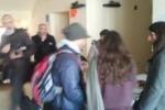 Messina, blitz alla Casa dello studente: le immagini