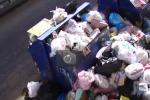 Messina, cumuli di rifiuti nella zona Camaro San Paolo