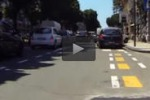 Pista ciclabile a Messina ma molti la usano per posteggiare