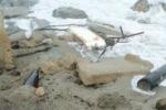 Maltempo a Messina, danni alla fognatura