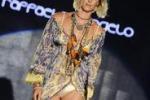 Federica Pellegrini sfila alla Settimana della Moda di Milano