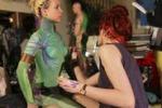Body painting, grande fermento a Città del Capo: le immagini
