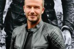 Moda, David Beckham come un centauro per Belstaff