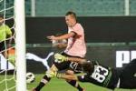 Palermo, 4 gol al Parma. Le immagini di Tgs