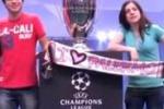 Champions, il trofeo per una volta a Palermo