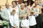 Coppia di danesi sposi a Corleone: piantato l'ulivo dell'amicizia