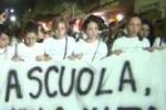 Fiaccolata per Carmela, lacrime a Palermo