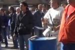 La protesta della Gesip a Palermo: le immagini