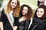 La foto. Miss Italia, Giusy Buscemi fa tappa a Palermo