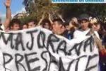 Studenti, altra giornata di protesta a Palermo