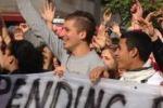 Balduzzi a Palermo, protesta degli studenti