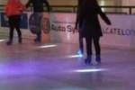 Palermo, ecco la pista di pattinaggio sul ghiaccio