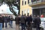 Palermo, la protesta dei portuali