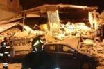 Palazzine crollate a Palermo, momenti di panico
