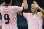 Palermo, con la Fiorentina attacco con Miccoli e Dybala