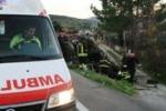 Incidente sulla Palermo-Agrigento: gravi tre giovani