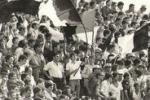 Sport e tifo a Palermo: gli scatti di Gigi Petyx del 1977