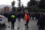 Palermo, protestano gli operai Gesip: le immagini