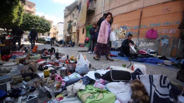 mercato albergheria, regolamentazione mercato albergheria, Palermo, Economia