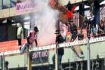 Lanciò fumogeno durante il derby, Daspo per rosanero
