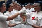 Croce Rossa, cerimonia della lampada a Palermo