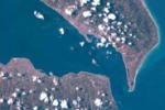Luca Parmitano twitta cartoline spaziali della Sicilia: le foto