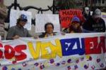 A Palermo una manifestazione in sostegno del Venezuela