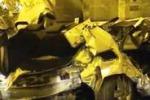 Scontro mortale sulla Palermo-Messina, le immagini dentro la galleria