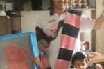Dai lettori: tifosi rosanero piccoli e grandi in Brasile