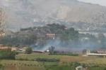 Incendio a Palermo, colpito l'istituto zootecnico