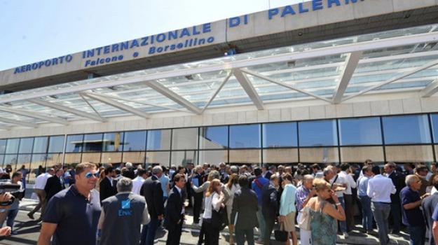 aeroporto falcone borsellini, aeroporto palermo, aumento, passeggeri, Palermo, Economia
