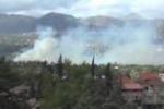 Vasto incendio vicino alla Palermo-Sciacca: le immagini
