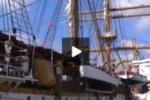 Tgs. Arrivata a Palermo la nave scuola Palinuro