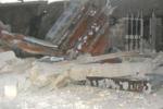 Donnalucata, crolla il solaio di un garage: le foto