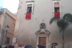 Festa di Santa Lucia a Comiso con il lancio delle noccioline