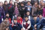 Progetto legalità, alunni in visita alla caserma di Vittoria