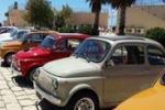 Marina di Ragusa, Fiat 500 d'epoca in mostra al porto