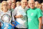 Siracusa, i 90 anni di Amore: festa per l'atleta pensionato