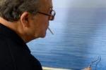 """""""Piero Guccione verso l'infinito"""", proiezione a Belvedere"""