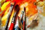 Laboratorio di pittura, ultima lezione a Siracusa