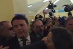 Renzi, le immagini della visita a Siracusa
