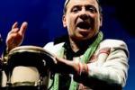 Il percussionista napoletano Tony Cercola a Sortino