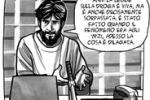 Mauro Rostagno rivive...a fumetti