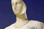 LA FOTO. Arriva in Sicilia la Venere di Morgantina