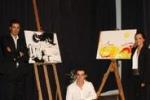 Musica, poesia e pittura: show a Sambuca